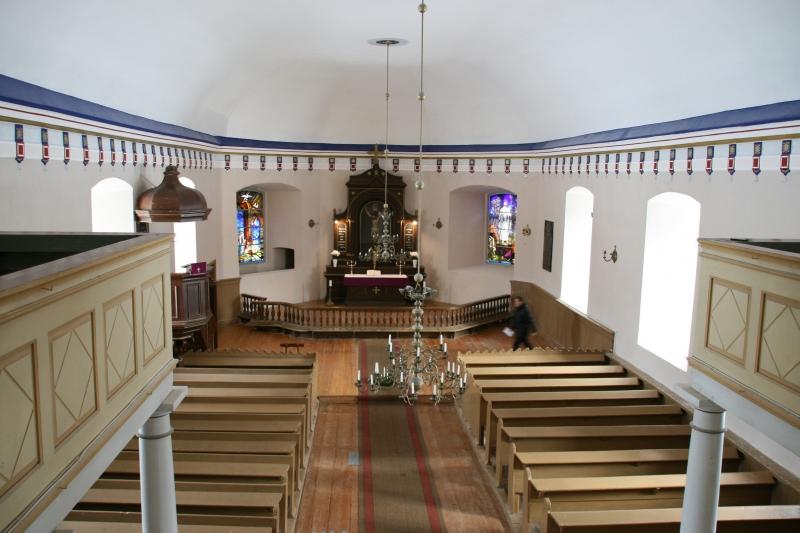 Āraišu baznīca saņēmusi atzinību par restaurācijas darbiem